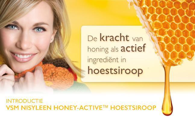 VSM Nisyleen Hoestsiroop Honey-Active