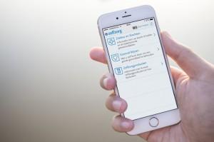 Neprofarm Zelfzorg app iPhone 6 - anno 2015