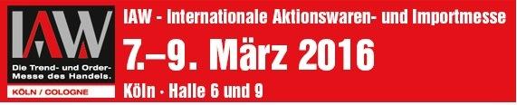 NWdeutsche Messegesellschaft streamer IAW maart 2016