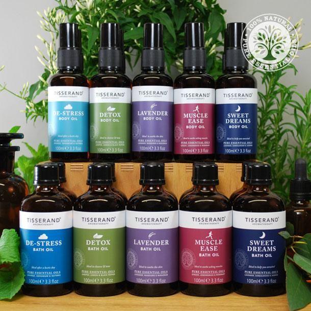 Tisserand aromatherapie Group Bath and Body