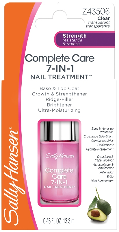 Coty Sally Hansen Complete Care 7-in-1 Nail Treatment Base & Top Coat1