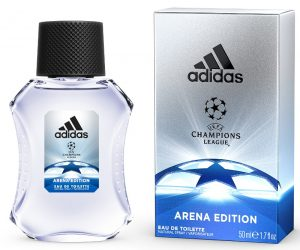 Coty adidas UEFA 2016-2017 Arena edition - EDT bottle + package 100ml