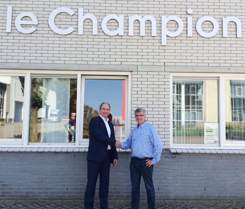 Emonta sponsor Le Champion wandeltochten aug 2016